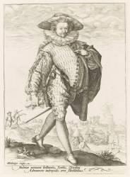 Un écrivain d'armée Hollandais (Gheyn Jacob II de) - Muzeo.com