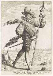 Un officier de guerre (Gheyn Jacob II de) - Muzeo.com