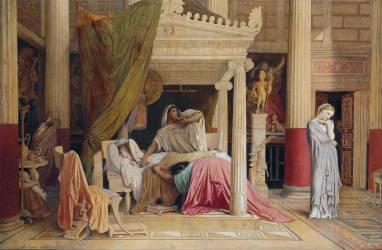 Antiochus et Stratonice (Jean-Auguste-Dominique Ingres) - Muzeo.com