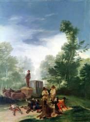 Attack on a Coach (Francisco De Goya) - Muzeo.com