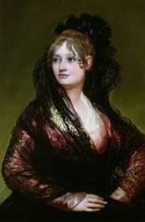 Dona Isabel de Porcel (Francisco de Goya) - Muzeo.com