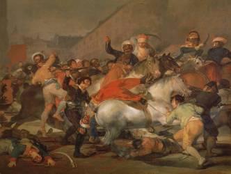 Dos de mayo (De Goya Francisco) - Muzeo.com