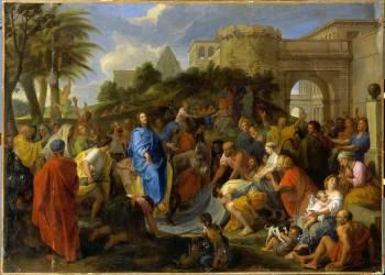 Entrée du Christ à Jérusalem (Le Brun Charles) - Muzeo.com