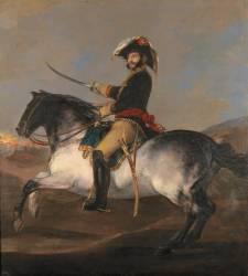 Equestrian Portrait of General Palafox (Francisco de Goya) - Muzeo.com