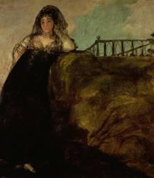 Leocadia Zorilla, the Artist's Housekeeper (Francisco de Goya) - Muzeo.com