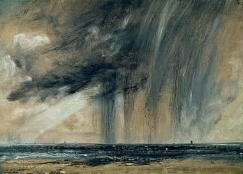 Rainstorm over the Sea (John Constable) - Muzeo.com