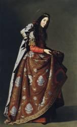 Saint Casilda (Francisco de Zurbaran) - Muzeo.com