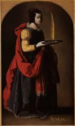 Saint Lucy (Francisco de Zurbaran) - Muzeo.com