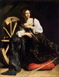 St. Catherine of Alexandria (Caravaggio) - Muzeo.com