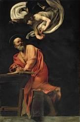 St. Matthew and the Angel (Caravaggio) - Muzeo.com
