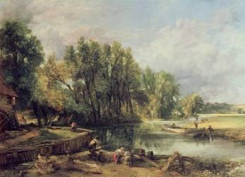 Stratford Mill (John Constable) - Muzeo.com