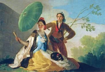 The Parasol (Francisco De Goya) - Muzeo.com