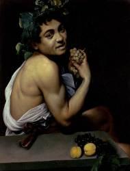 The Sick Bacchus (Caravaggio) - Muzeo.com