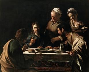 The Supper at Emmaus (Caravaggio) - Muzeo.com