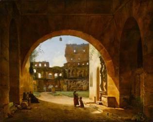 Vue intérieure du Colisée à Rome (François-Marius Granet) - Muzeo.com