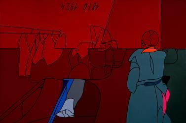 Le Gilet de Lenine (Valerio Adami) - Muzeo.com