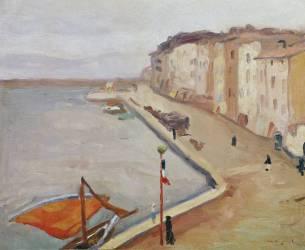Le Port de Saint-Tropez (Albert Marquet) - Muzeo.com