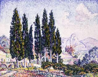 A Garden at Saint-Paul (Paul Signac) - Muzeo.com