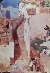 Albayzin in Granada (Sorolla y Bastida Joaquin) - Muzeo.com