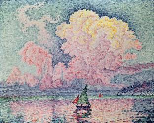 Antibes, the Pink Cloud (Paul Signac) - Muzeo.com
