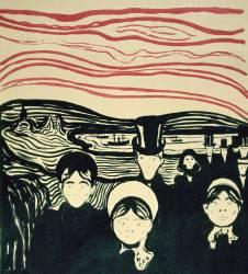 Anxiety (Edvard Munch) - Muzeo.com