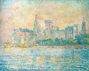 Avignon, Morning (Paul Signac) - Muzeo.com