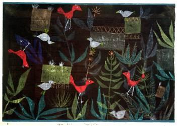 Bird Garden (Paul Klee) - Muzeo.com