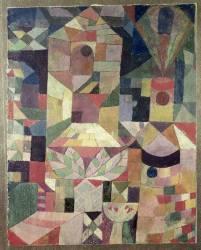 Castle Garden, 1919 (Paul Klee) - Muzeo.com