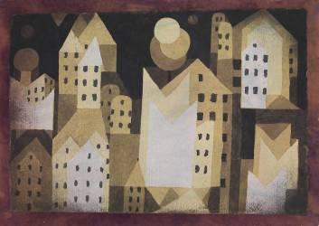 Cold City, 1921 (Paul Klee) - Muzeo.com