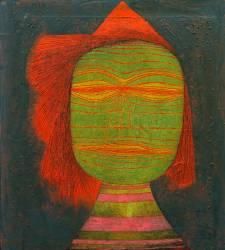 Comedian Mask (Paul Klee) - Muzeo.com