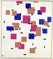 Composition in Colour A (Mondrian Piet) - Muzeo.com