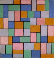 Composition in Dissonances (Theo van Doesburg) - Muzeo.com