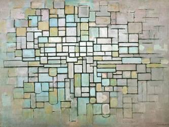 Compostion No.II (Mondrian Piet) - Muzeo.com