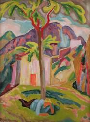Figure resting under a Tree, Saint-Agnes (Roger Fry) - Muzeo.com
