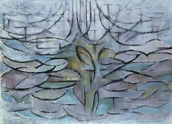 Flowering Appletree (Piet Mondrian) - Muzeo.com