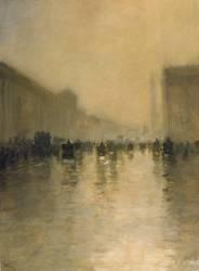 Foggy Day in London (Giuseppe de Nittis) - Muzeo.com