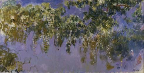 Glycines (Claude Monet) - Muzeo.com