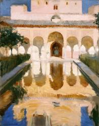 Hall of the Embassadors, Alhambra, Granada (Sorolla y Bastida Joaquin) - Muzeo.com