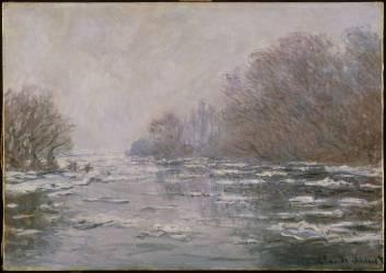 La Débâcle près de Vetheuil (Claude Monet) - Muzeo.com