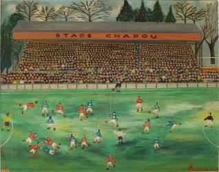La partie de football (Jean Escudier) - Muzeo.com