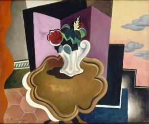 La table Louis-Philippe (Roger de La Fresnaye) - Muzeo.com