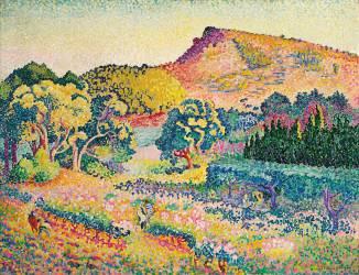 Landscape with Le Cap Negre (Cross Henri-Edmond) - Muzeo.com