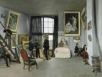 L'Atelier de Bazille, 9 rue de la Condamine à Paris (Frédéric Bazille) - Muzeo.com