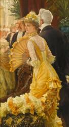 Le bal (James Tissot) - Muzeo.com