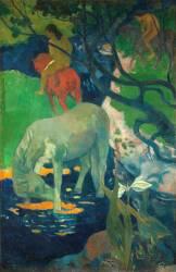 Le Cheval blanc (Paul Gauguin) - Muzeo.com