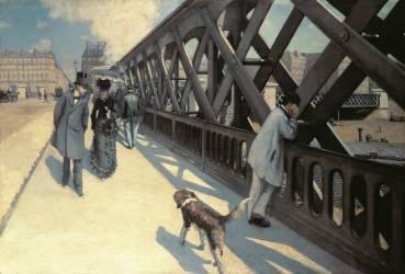 Le Pont de L'Europe (Gustave Caillebotte) - Muzeo.com