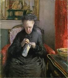 Madame Martial Caillebotte (Gustave Caillebotte) - Muzeo.com