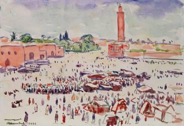 Marrakesh (Albert Marquet) - Muzeo.com
