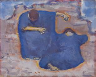 Mourning Women (Koloman Moser) - Muzeo.com