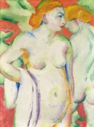 Nudes in Cinnabar (Marc Franz) - Muzeo.com